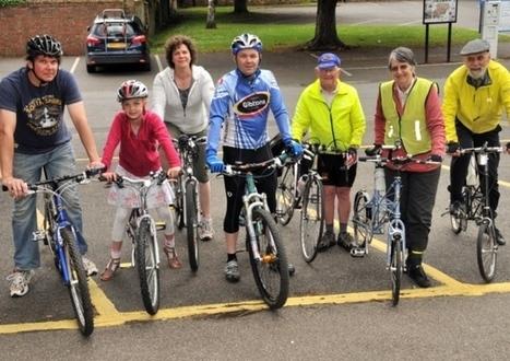 Family ride gets things rolling for national Bike Week - Health - Spalding Guardian | National Bike Week | Scoop.it