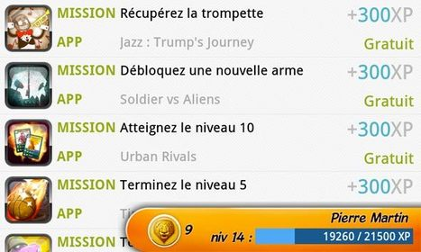 Giftiz, la plateforme sociale de jeux sur Android | Time to Learn | Scoop.it