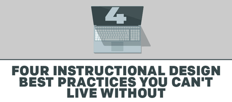 4 Instructional Design Best Practices You Can't Live Without | Educational Technology News | Scoop.it