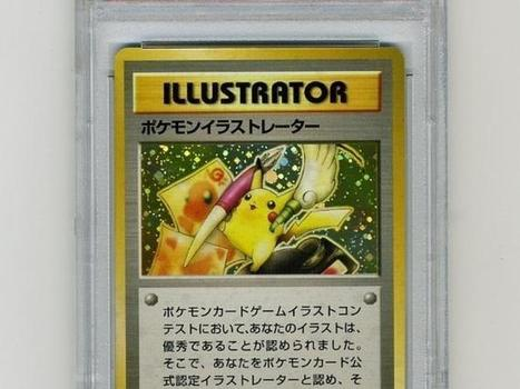 Rare Pokemon card attracts record-breaking $50k offers on eBay | The Hottest PSA 10 Sports Cards on eBay | Scoop.it