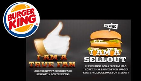 Burger king éprouve la loyauté de ses fans | Promo Affinity | Social and digital network | Scoop.it