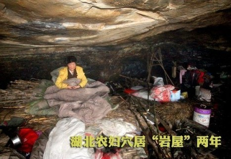 Chinese Woman Has Been Living in a Cave for 2 Years After Her Family Abandoned Her | Strange days indeed... | Scoop.it