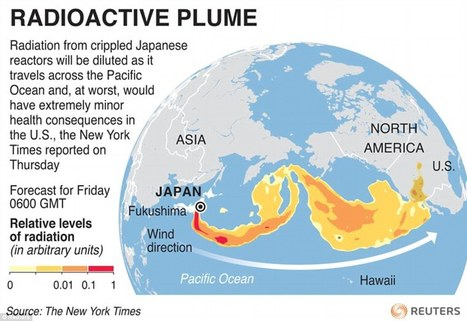 UN predicts nuclear plume could hit US by Friday | Japan Tsunami | Scoop.it