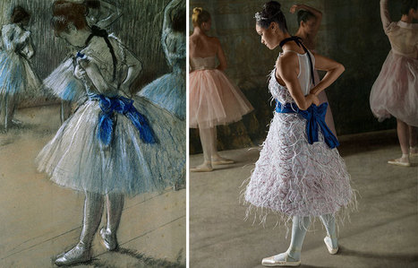Ballerina Recreates The Paintings Of Edgar Degas | Art, Photography, etc | Scoop.it