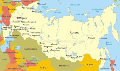 Map of Russia   Murder on the Leviathan   Scoop.it