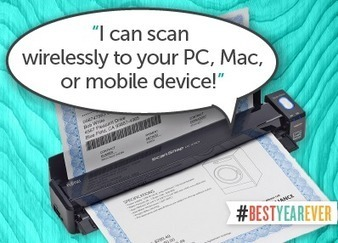 ScanSnap Wireless Mobile Scanner | Perfecting Educational Practice | Scoop.it