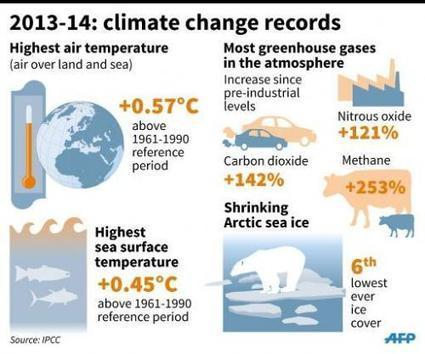 UN weather agency: 2014 on track for hottest year | Sustain Our Earth | Scoop.it