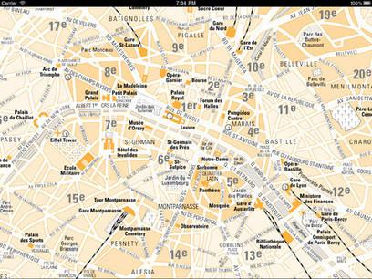 App Store - Paris Maps - Download Metro, Bus, Train Maps and Tourist Guides.   Technology for productivity   Scoop.it