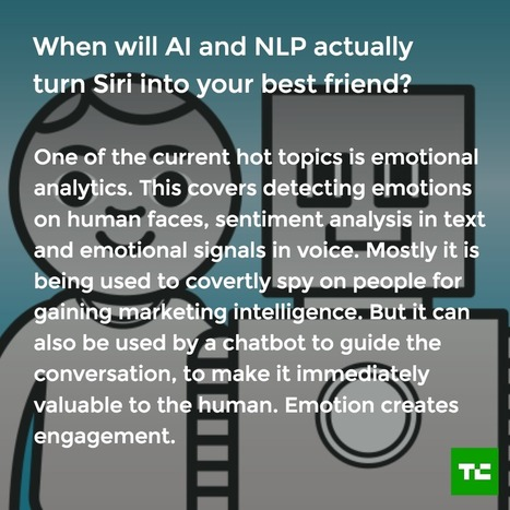 When will AI and NLP actually turn Siri into your best friend? | Litigation Support News and Opportunities | Scoop.it