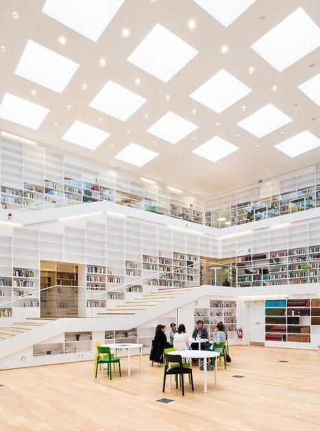 Dalarna University Library by ADEPT | METALOCUS | Kirjastoista, oppimisesta ja oppimisen ympäristöistä | Scoop.it