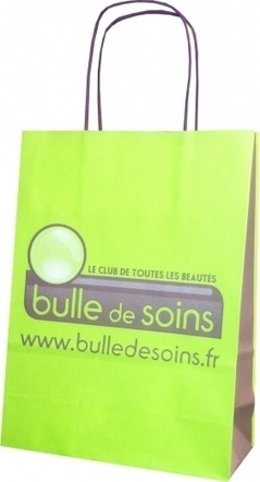 Le sac en papier pour les instituts de beauté Bulle de soins - Le Sac Publicitaire   Sac papier publicitaire   Scoop.it