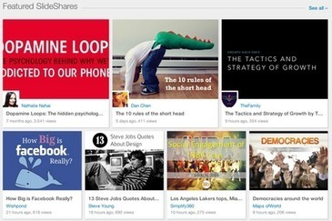 7 Ways to Use SlideShare for Your Business | Social Media, SEO, Mobile, Digital Marketing | Scoop.it