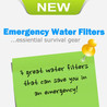 Emergency Portable Water Filters