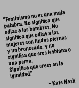 Ser feminista | #hombresporlaigualdad | Scoop.it