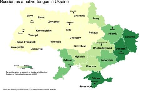 Mapping Ukraine's identity crisis | Archivance - Miscellanées | Scoop.it