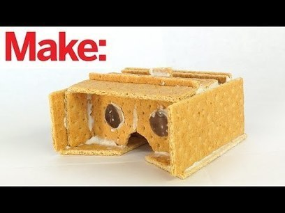 Making an edible Google Cardboard VR viewer out of graham crackers and icing | ipad | Scoop.it
