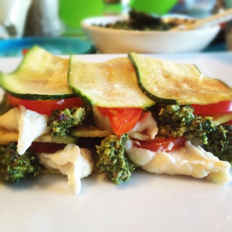 Ricetta crudista: lasagne di zucchine | Alimentazione e cucina veg, ricette e consigli pratici | Scoop.it