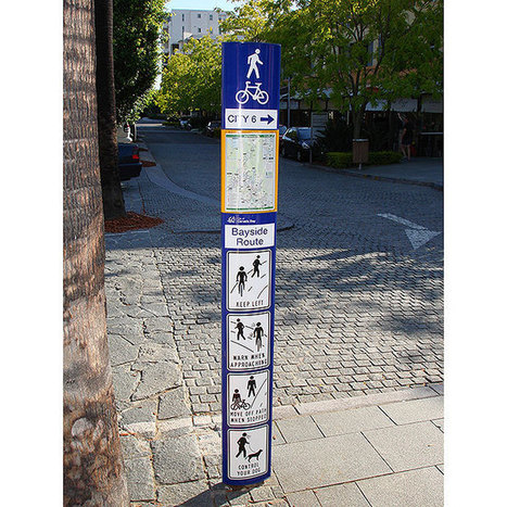 Arrow Alpha wayfinding signs | Notice Boards and Poster Signs | Scoop.it