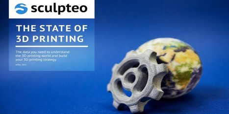 "Sculpteo Details the Hobbyist Market in Their ""State of 3D Printing"" Industry Report 