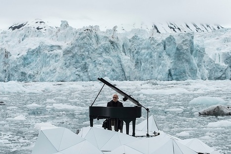 World Renowned Pianist Performs Concert Floating on the Arctic Ocean | Le It e Amo ✪ | Scoop.it
