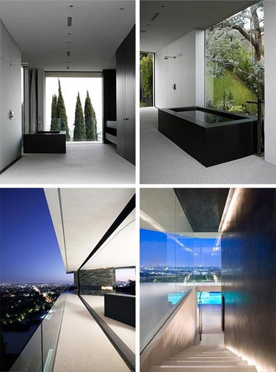 Extreme Modern Hillside Home with an Amazing View | Designs & Ideas on Dornob | What Surrounds You | Scoop.it
