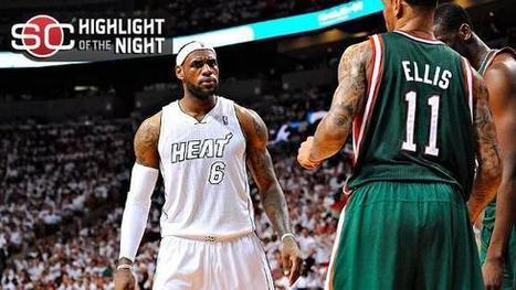 LeBron, Heat blister Bucks to claim 1-0 lead | NBA - National Basketball Association | Scoop.it
