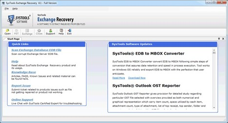 How to Transfer Exchange Server Database to New Server | Exchange Server Recovery | Scoop.it