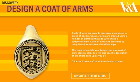 V&A - Design a Coat of Arms | Interactive History Resources | Scoop.it