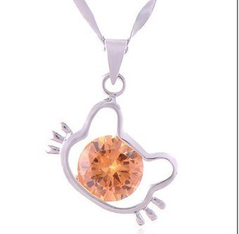 Aliexpress.com : Buy Fashion Sterling 925 Silver Necklace Hello Kitty Necklace with Crystal Hello Kitty Pendant from Reliable hello kitty jewelry suppliers on  Miss Lyra | Hello Kitty | Scoop.it