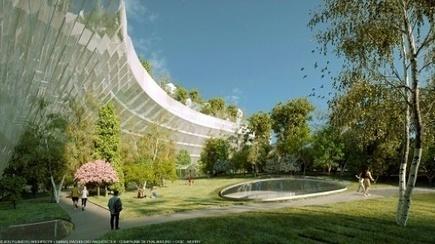 Une forêt de mille arbres pour couvrir le périphérique: quand Paris se réinvente | Idées responsables à suivre & tendances de société | Scoop.it