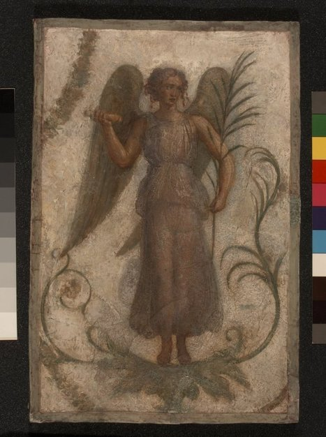 Tomb painting of Victory   Roma Antiqua   Scoop.it
