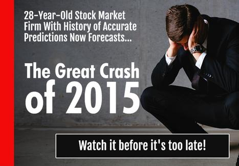 Memo to Bulls: Stock Market Crash Looming in 2016 - Profit Confidential | stock market | Scoop.it