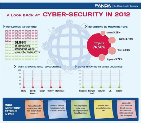 A look back at cyber-security in 2012 [Infographic] | Alt Digital | Scoop.it