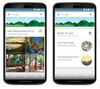 Google Now intègre désormais plus de contenus d'applications tierces - #Arobasenet | Digital Martketing 101 | Scoop.it