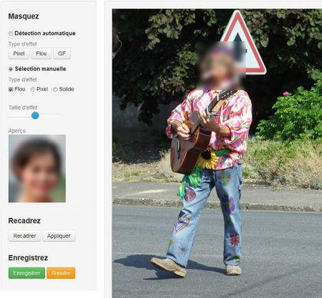 Un outil en ligne pour flouter ou pixeliser une partie d'image | E-tourisme | Scoop.it