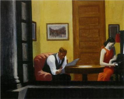 Room in New York - Edward Hopper - WikiPaintings.org | What tool to use for your final project in ESL classes. | Scoop.it