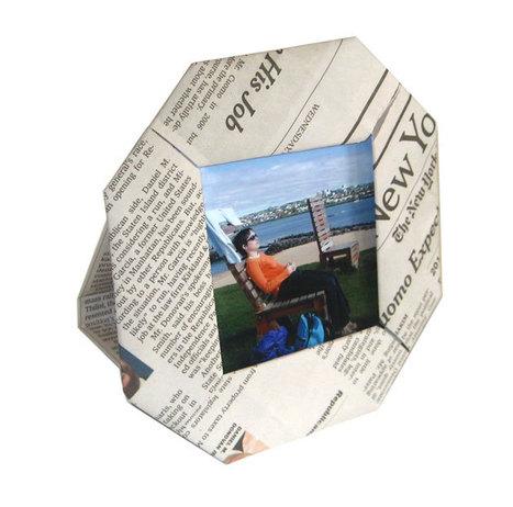Paper Scrap Picture Frame | Art 2.0 | Scoop.it