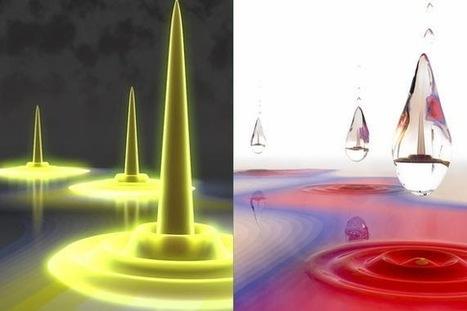 Astrofísica y Física: Descubren el dropletón, la gotita cuántica | Catywo | Scoop.it