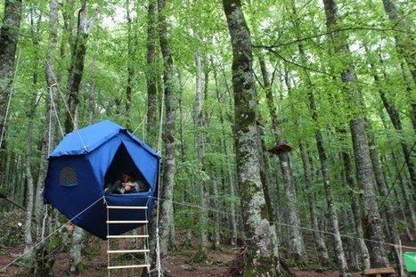"ATOMO, la prima ""tenda sull'albero"" tutta italiana   social innovation italy   Scoop.it"