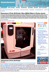 Jay Leno's Popular Mechanics article on Dimension 3D Printers   DIY Manufacturing / 3d Printing   Scoop.it