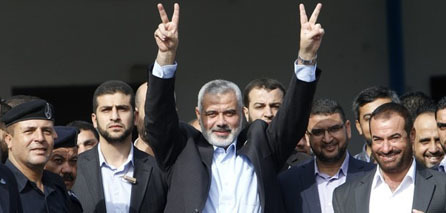 "Haniyeh: ""The resistance will not fail"" 
