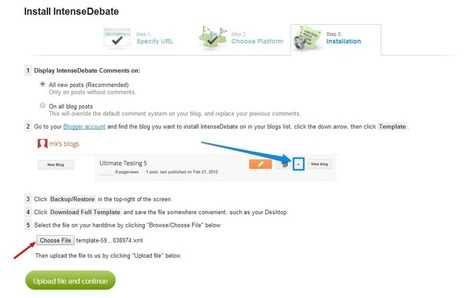 CommentLuv to Blogger : How to Install IntenseDebate Comment System on Blogger - Pro Blog Tricks | Social Media | Scoop.it