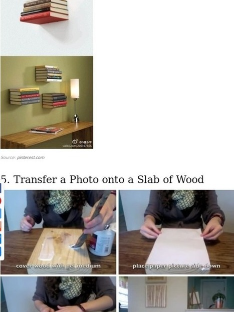 31 Insanely Easy And Clever DIY Projects | Socialart | Scoop.it