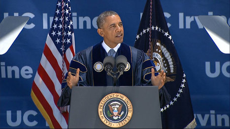 At Commencement, Obama Mocks Lawmakers Who Deny Climate Change   climatefuture   Scoop.it