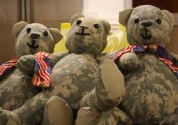 Georgia mom transforms fallen soldiers' uniforms into teddy bears for their children | Kickin' Kickers | Scoop.it