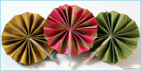 DIY Paper Fans – Del Mar Fans & Lighting | Ceiling Fans | Scoop.it
