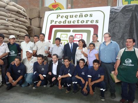 Le ministre Benoit Hamon en visite au Pérou chez nos partenaires | ETHIQUABLE | Scoop.it