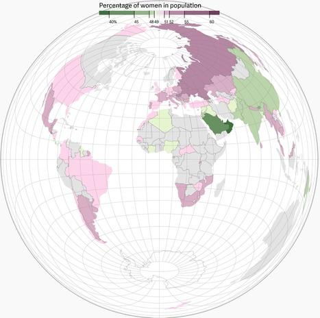 Une Terre très masculine (interactive) | Journalisme graphique | Scoop.it