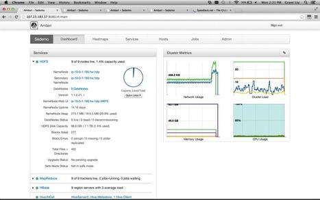 Get Started: Ambari for provisioning, managing and monitoring Hadoop | BigData NoSql and Data Stuff | Scoop.it