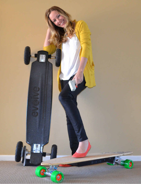 The skate board 'evolution' just got electric | Evolve Skateboards | Scoop.it